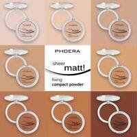 PHOERA Powder Concealer Matte Pearl Finishing Powder Pressed Powder 8 Colors SP
