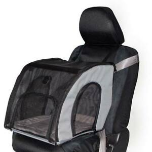 """K&H PET PRODUCTS 7660 Gray PET TRAVEL SAFETY CARRIER SMALL GRAY 17"""" X 16"""" X 15"""""""