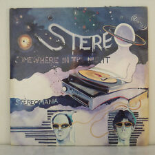 """Stereo – Somewhere In The Night - Vinyl, 12"""", 45 RPM -  Synth-pop - Fr 1982"""