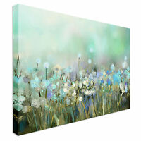 Wildflowers Field Spring flowers Canvas Wall Art Picture Print