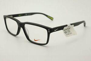 Nike Eyeglasses NK 7239 001 Matte Black Frames 55mm