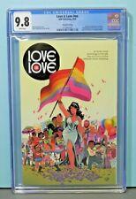 2016 Love Is Love #nn 2nd Print  1st Harry Potter Jim Lee CGC 9.8 Rare Hot Key !