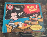 Vtg Rare Jacmar Mickey Mouse Club Magic Divider Board Game #423 Walt Disney CZ