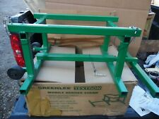 Greenlee Textron Mobile Bender Stand Model 1832 For Conduit Bender Mate Nos