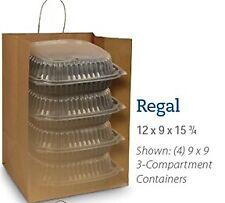 Duro 87415 Regal Kraft Shopping Bag 12 X 9 X 1575 200 Per Bundle