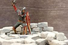 60 Ruinen Bausteine Modellbau passend für 7 cm Figuren men100875