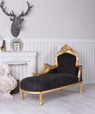Canapé Baroque Chaise-Longue XXL Banc Sofabank Récamière Ottoman Ancien