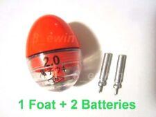 LED Electronic Ellipsoid abo Fishing Float + 2 Lithium batteries