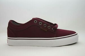 Vans Chukka Low (Canvas) Port/White Men's Multiple Sizes New in Box VN0A38CGN2F