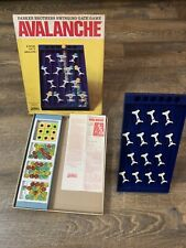 Vintage Parker Brothers Avalanche Board Game/Original Box