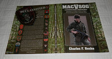 MACVSOG Command History Vietnam War Book Cover Slick/Poster Charles F. Reske