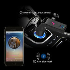 Bluetooth FM Transmitter Car MP3 Player Auto USB Charger KFZ Freisprechanlage DE