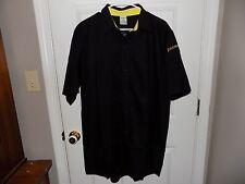 Zaxby's Men's Black Uniform Shirt Size Large