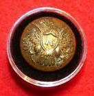 Civil War Union Rifleman Coat Button