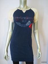 $49.50 RALPH LAUREN Girls 12/14 Women's XS Logo Embroidery Jersey Knit Dress EUC