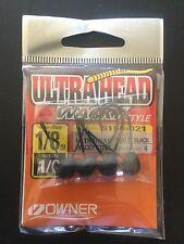 Owner,Wacky Jig Head,Ultrahead,1/8oz,4/pk,#5154-021