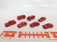 CA492-0,5# 7x Wiking 1:87/H0 FW/Feuerwehr VW/Volkswagen: T2+Golf+Variant, TOP