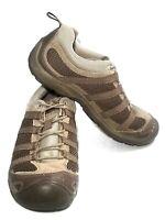Chaco Mens Redrock Strata Lace Up Tan Hiking Trail Shoe Sz 7.5 Mesh