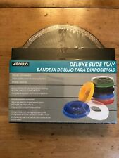 New Apollo Deluxe Slide Tray P/N: 3280-01 Black holds 80 slides