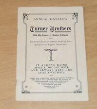"""RARE 1915 Irrigating/GARDEN Machine Catalog~""""TURNER BROTHERS""""~"""