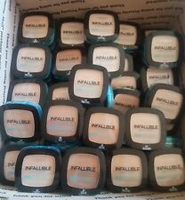 Lot of 25 Loreal Infallible Pro-Glow Finish Powder Variety of Colors