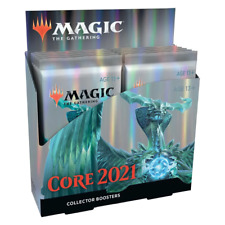 Magic the Gathering Core 2021 Collector Booster Box NEW
