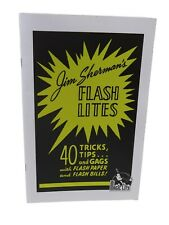 Flash Lights 40 Tips Tricks Gags with Flash Paper Bills (Booklet + Flash Paper)