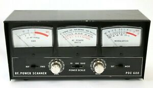 Para Dynamics PDC-600 RF Ham Radio Power Scanner- 1000 Watt Modulation/SWR Meter
