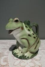 Takahashi Figural Novelty Teapot - Frog Toad - Vintage - Labels - Vgc