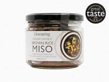 Clearspring Organic Brown Rice Miso jar (up) 300g