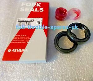HONDA NSC 50 VISION 2012-2019 ATHENA  FORK OIL SEALS + RUBBER  GREASE 26X37X10.5