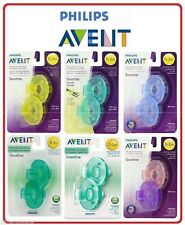 Philips AVENT Soothie Pacifier Various Colors 0-3 or 3+ Months 2 Pack BPA FREE
