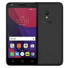 """Nuevo Smartphone Pantalla Alcatel Pixi 4 4"""" Negro SIM Libre Precio de Ganga Barato"""