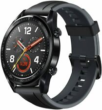Huawei Watch GT B19 46mm Stainless Steel Case with Sport Band Smart Watch NEW !!