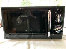 Swan SM22080R 20-Litre Manual Microwave - Black