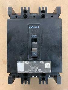 WESTINGHOUSE FB3125L CIRCUIT BREAKER 125 AMP