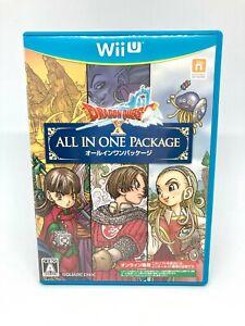 Nintendo Wii U - Dragon Quest X All IN One Package - Versión Japan Full