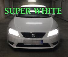 SEAT LEON MK3 SUPER XENON 6000K WHITE HEAD LIGHT LAMP LIGHT BULBS - ERROR FREE