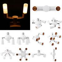 Adjustable Bulb Socket Adapter E27 Splitter Lamp Base Converter Light Holder Hot