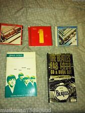 BEATLES: Package CD's 1962-1966 & 1967-1970 CDs & Various Books