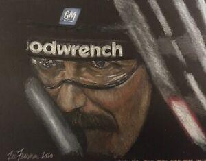 """Intimidation"" Dale Earnhardt Art print"