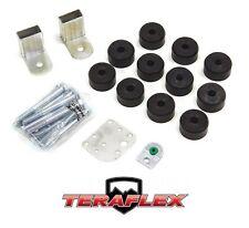 "TeraFlex TJ 1"" Body Lift Spacer Kit - UHMW for 1997-2006 Jeep Wrangler"