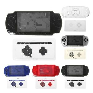 Replacement Full Housing Shell Case With Button Kit For Sony PSP 2000 Console