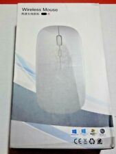 2.4GHz Wireless Mouse Optical Mice Rechargeable Cordless For Laptop
