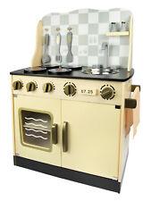 Drewniana kuchnia dla dzieci w stylu Vintage 243001