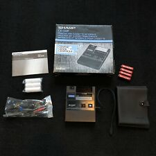 Sharp CE-50P Printer and Cassette Interface With Original Box As Is