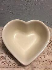 Pfaltzgraff Color Medley Heart Shaped Bowl Cream Color Dinnerware