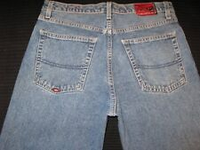 Quiksilver Quik Jean Relaxed Loose Fit Distressed Wash 32 X 28