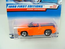 Hot Wheels Dodge Sidewinder 1998 First Editions #634 Error