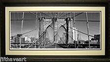 Brooklyn Bridge Print Framed A+ Quality